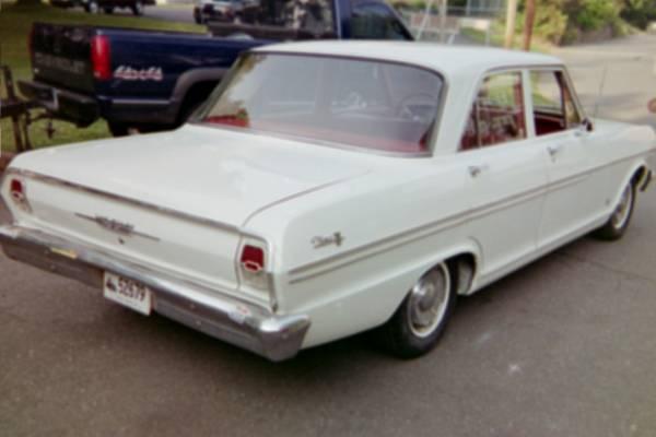 1962 Chevy Nova 4 door sedan