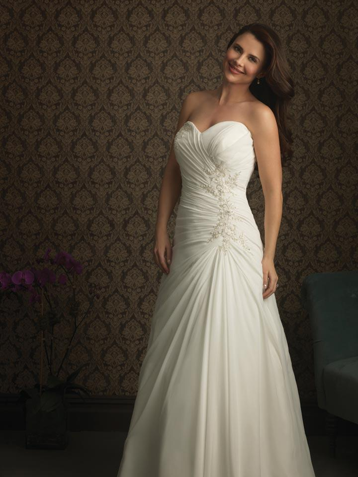 Ivory Strapless Plus Size Wedding Dresses Zoombridal Prlog