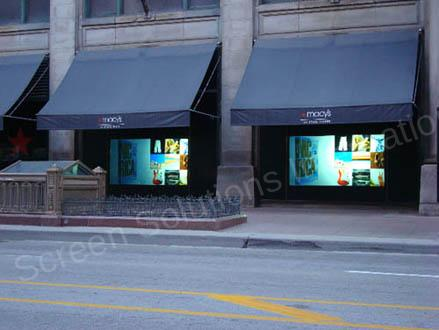 Window Tv Turn Your Glass Into A Storefront Window Tv