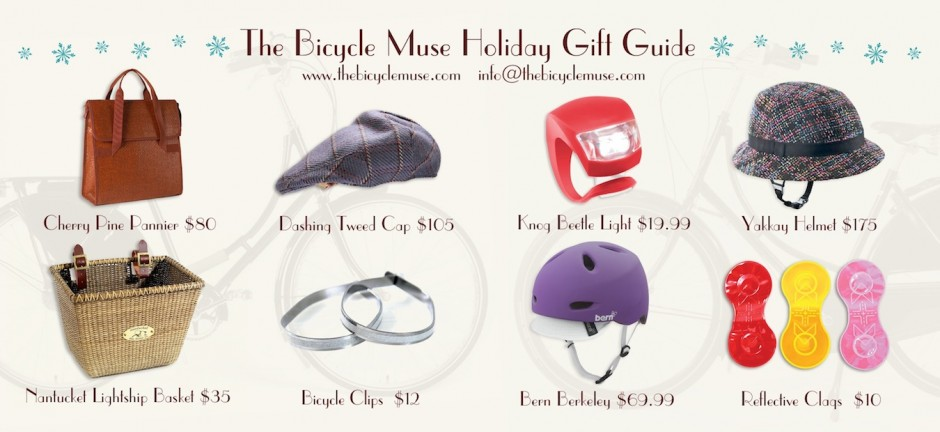 Gifts for Cyclists from The Bicycle Muse