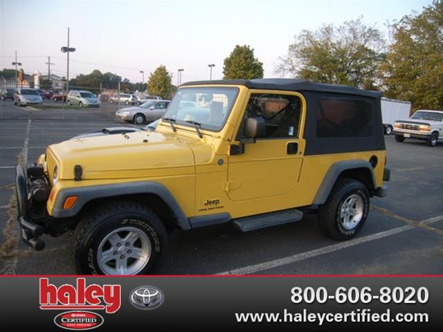 2004 jeep wrangler unlimited for sale in richmond va haley certified center prlog. Black Bedroom Furniture Sets. Home Design Ideas