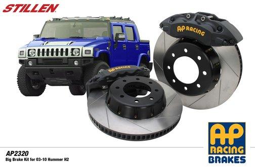 STILLEN - AP Racing Big Brake System - Hummer H2