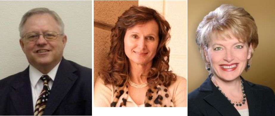 Forrest Barbee, Kathryn Bovard, Heidi Kasama
