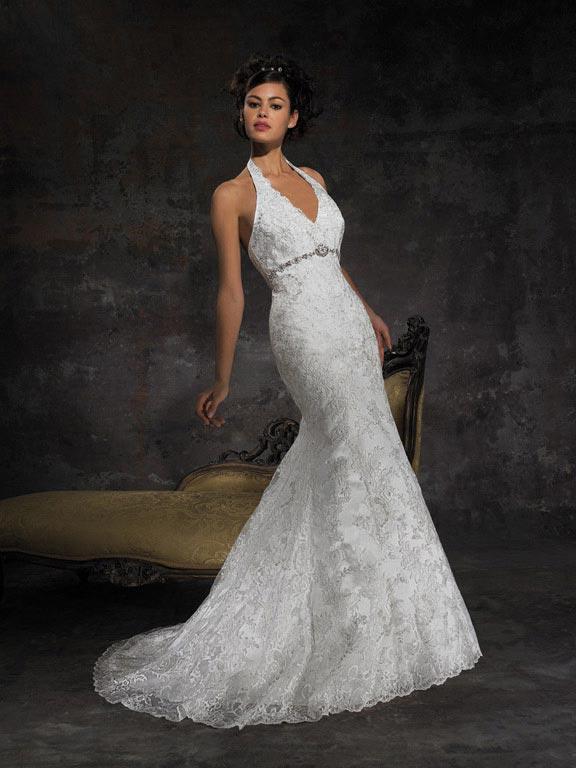 Mermaid Gown White Vintage Wedding Dresses -- zoombridal.com | PRLog
