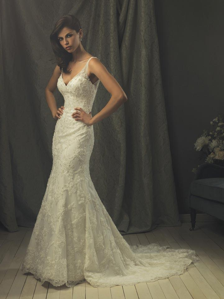 Hot!! Lace Mermaid Vintage Wedding Dresses -- Zoombridal