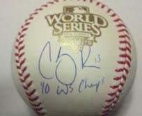 Cody Ross Signed 2010 WS Baseball