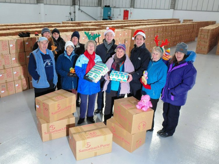 Segro helps the Samaritans' Christmas appeal