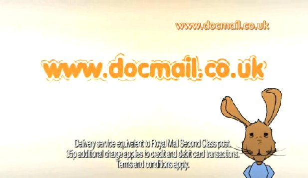 Joe Hare Stars in Docmail TV Advetising Campaign
