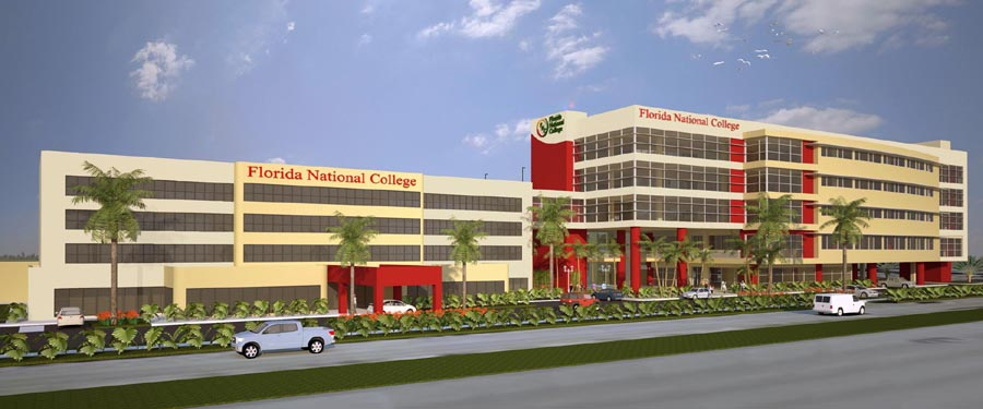 Florida National College Rendering