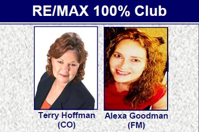 Terry Hoffman and Alexa Goodman REMAX DFW Associates