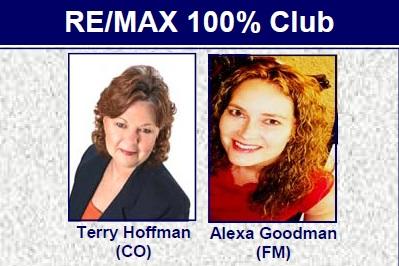 Terry Hoffman and Alexa Goodman REMAX DFW Associates