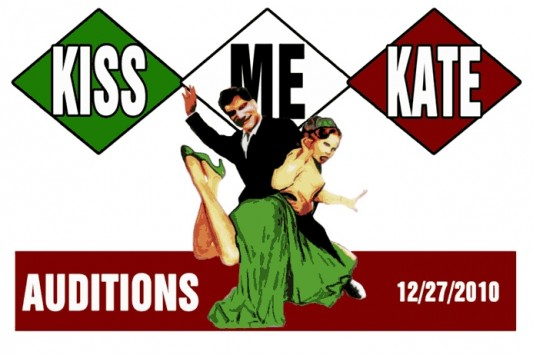 Audition for Cole Porter's KISS ME KATE 12/27/10