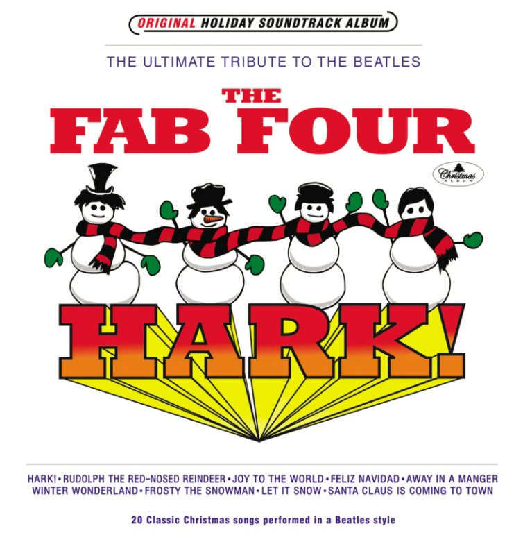 Fab Four - Christmas cover (digital only)_s1