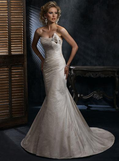 Champagne strapless fitted a line silhouette corset for Strapless corsets for under wedding dresses