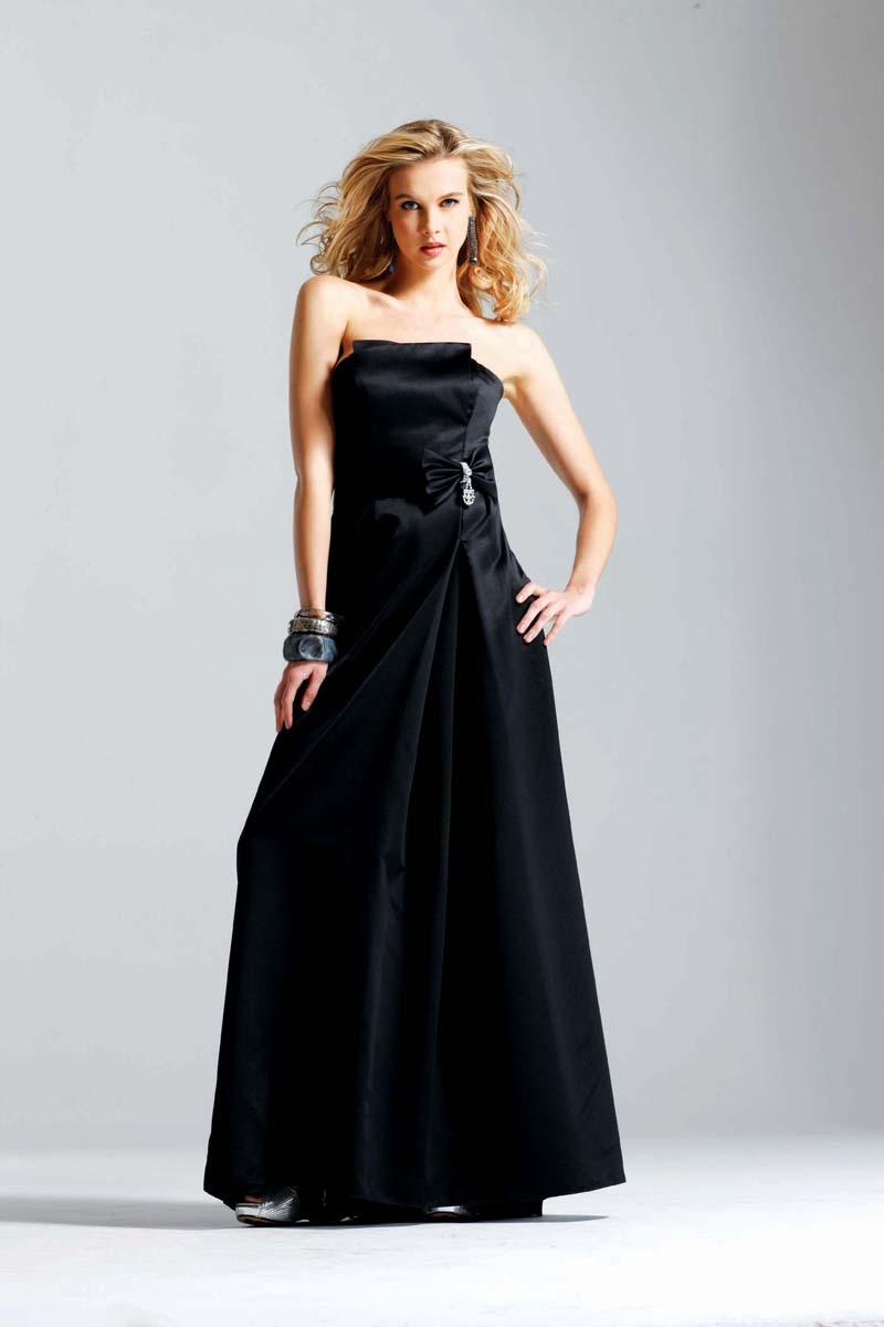 Kate Winslet Black Strapless Prom Gown Evening Dress -- zoombridal ...