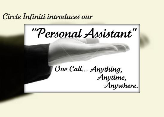 Circle Infiniti Personal Assistant Program