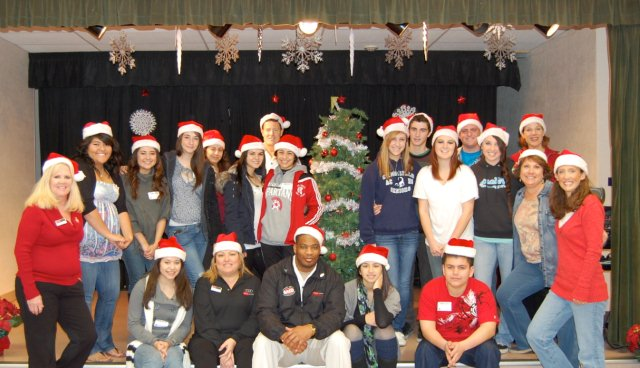 The RRK Holiday Team with DCH Auto Group and SADD