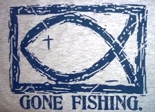 Image result for jesus gone fishing