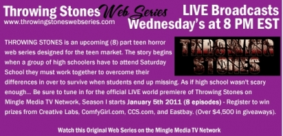 Throwing Stones Web Series LIVE on Mingle Media TV