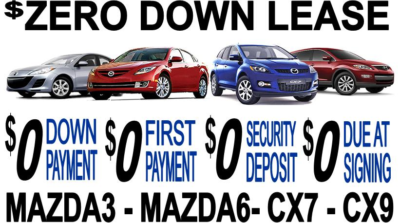 Amazing Due At Signing Lease Specials Mazda Cash Back And APR - Mazda lease offer