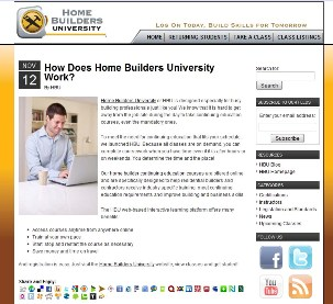 Home Builders University Blog