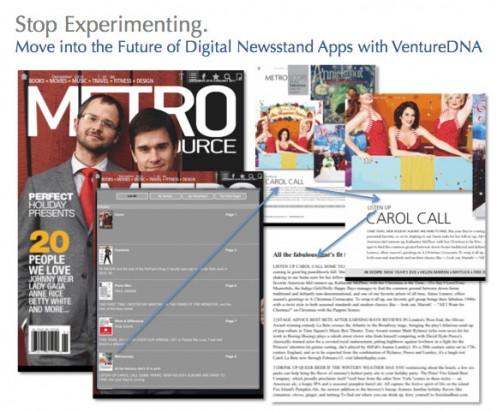 VentureDNA's Digital Newsstand
