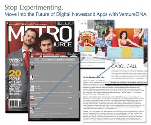 VentureDNA's Digital Newsstand