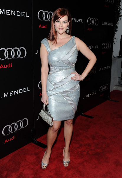 Sara Rue wears Jean Fares Couture!