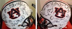 Auburn Team-Signed Football Helmet