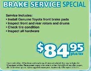 Brake pads coupon codes