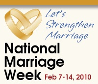 NAtional MArriage Week Square Banner