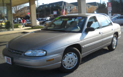 used 1996 chevrolet lumina for sale at reed brothers. Black Bedroom Furniture Sets. Home Design Ideas