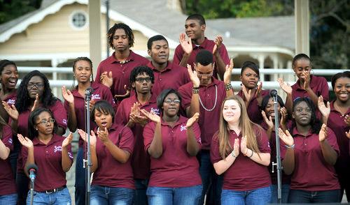 phs gospel choir picture