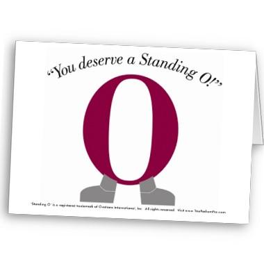Standing O Award Graphic