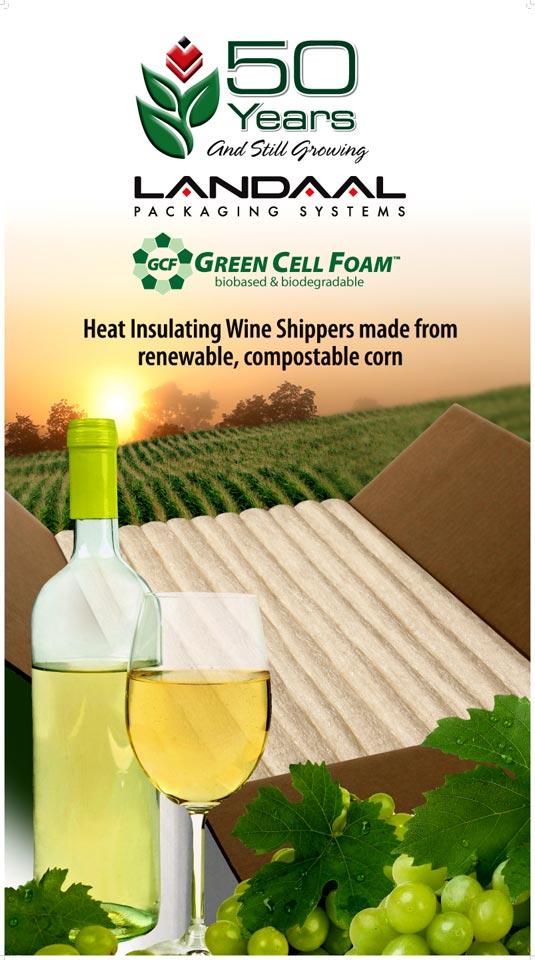 Landaal Eco-friendly Wine Shipper