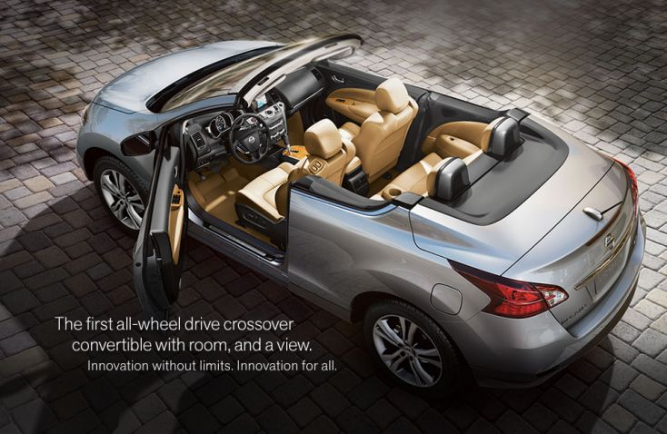 New 2011 Nissan Murano Crosscabriolet at Trophy Nissan in Mesquite Texas