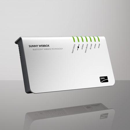 SMA Sunny WebBox with Bluetooth