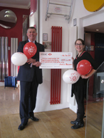 Red Hot radiator raised money for PRLog