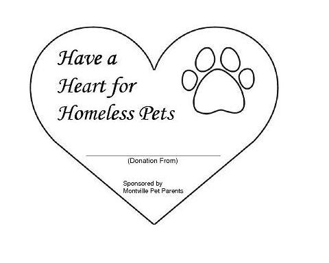 Hearts For Homeless Pets Montville Pet Parents Prlog