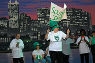 Park Lawn Participants show Irish Pride