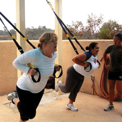 TRX Fitness Training is for all fitness levels