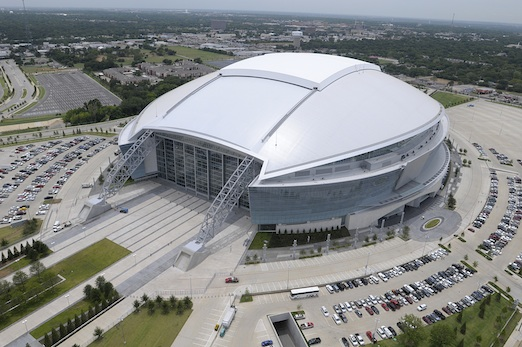 Cowboys Stadium Scores With Fabric Membrane Roofing From