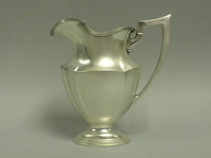 gorham plymouth sterling silver water pitcher