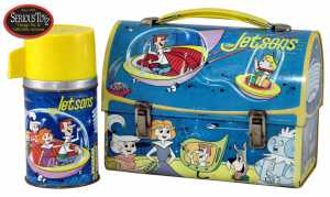 The Jetsons lunchbox, from 1963