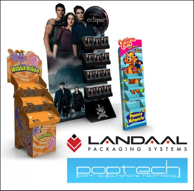 Landaal Packaging Brings Innovative Point Of Purchase