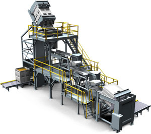 Material Handling System Moves Fragile Food Product At