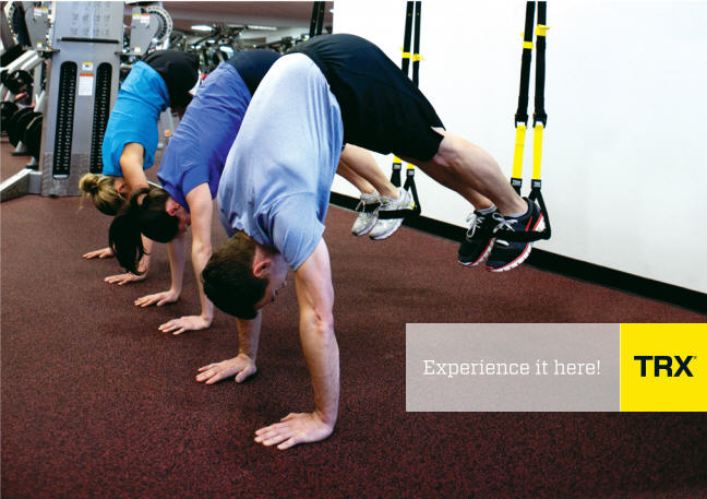 TRX Class in action