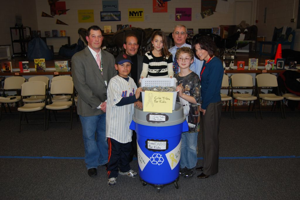 Gershow Recycling Supports Can Tabs for Kids.