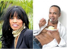 Radio Host Candace Chambers-Belida and Chef Andre Carthen