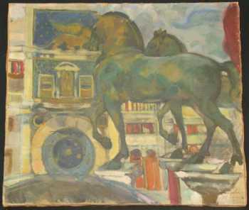 Boris Anisfeld Painting For Sale